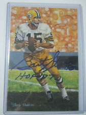 Bart Starr Signed Autographed Goal Line Art Packers HOF GLAC TRISTAR Certified