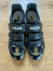 DMT Radial Cycling Shoes - Black/Gold - 41