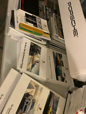 Porsche Super Lot for Collectors or Re-Sellers Brochures, Magazines, and more