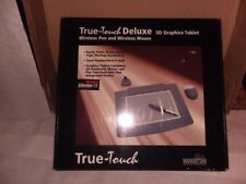 Manhattan True-Touch Deluxe 3D Graphics Tablet Wireless Pen and Wireless Mouse