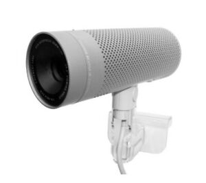 Apple WebCam iSight Kamera A1023 mit FireWire Mikrofon Clip-On in Silber + TOP