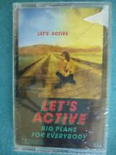 Let'S Active ~ Big Plans For Everybody Sealed Cassette 1986 Route 67 Badger Pool