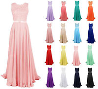 New Hot Chiffon Bridesmaid Evening Formal Party Cocktail Gown Prom Long Dress