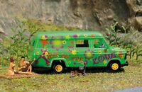 OO/HO Life Scenery - Wilderness camping with van & figures -Busch 7702 P3