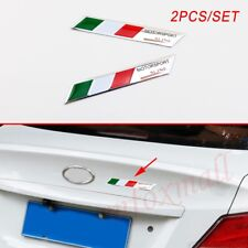 Italy Italian Country Flag Logo Emblem Sticker Decal Car Accessory Badge Stripes