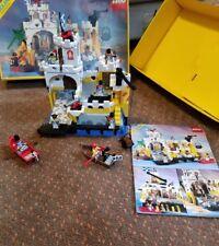 Lego 6276 LEGOLAND Vintage Eldorado Fortress1989 Complete BOX INSTRUCTION Pirate