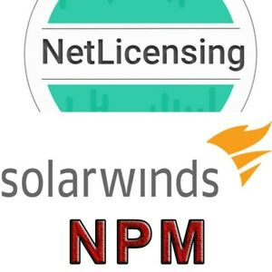 Solarwinds Network Performance Monitor License, Perpetual/Full Feature License
