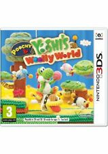 Poochy & Yoshi's Woolly World (3DS) NEW & SEALED Fast Dispatch Free UK P&P