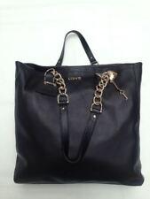 Liu Jo Damen Handtasche Claudia Leder schwarz A63293P0129-22222