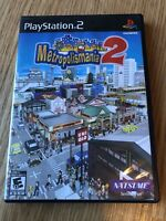 Metropolismania 2 (Sony PlayStation 2, 2007) PS2 Cib Game H1