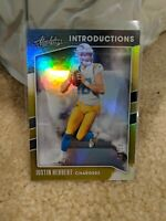 2020 Panini Absolute Introductions Justin Herbert Rookie SSP #02/10 *** READ ***
