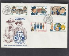 isle of Man 1985 Girl Guide First Day Cover FDC Douglas pictorial h/s