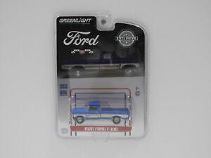 1:64 1976 Ford F-100 (Blue) Greenlight 29966