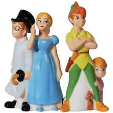 Walt Disney Peter Pan & Friends Ceramic Salt and Pepper Shakers Set, NEW SEALED