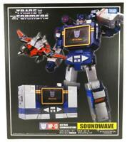 NEW TRANSFORMERS MASTERPIECE COMMUNICATIONS MP-13 SOUNDWAVE LASER BIRD KO BOXED