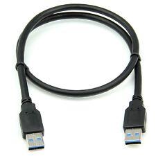 60 cm Calidad Alta Velocidad USB 3.0 A macho a macho Cable de impresora de Enchufe UE-plomo