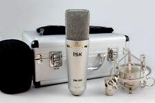 ISK BM-500 Studio Microphone à condensateur avec Shock Mount + mousse pare-brise