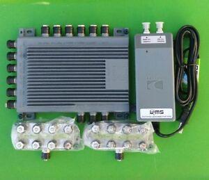 (NEW) DIRECTV SWM16 Multi-Switch SWM16R1 + (x2) Splitter + 29V Power Supply