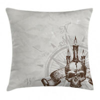Nautical Ocean Throw Pillow Cases Cushion Covers Home Decor 8 Sizes Ambesonne