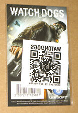 Watch Dogs promotional Tattoo QR Code from Gamescom 2013
