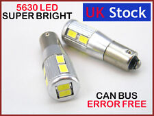 H6W 434 BAx9s CAN BUS NEW PARKING LAMP WHITE LED 10-SMD 5630 AUDI