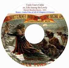 Uncle Tom's Cabin by Harriet Beecher Stowe  +audio