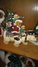 Boyds Bears Kringle's Great Adventure North   #4016652  NWT! Great Home decor!!