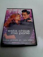"""DVD """"ESTA CHICA ME PONE"""" KRIS ISACSSON FREDDIE PRINZE JR JULIA STILES"""