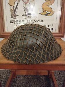 WW2 Original British Brodie Helmet