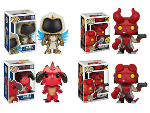 Funko POP!Collection Model World of Warcraft Hellboy Action Figure Toy