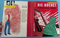 Ric Hochet Tribunal Noir Tibet & A.P. Duchateau ancien Album de bd 1981