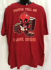Deadpool Marvel Comics Official RED T-Shirt Mens XXLarge