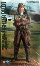 Tamiya WWII Imperial Japanese Navy Fighter Pilot in 1:16 36312