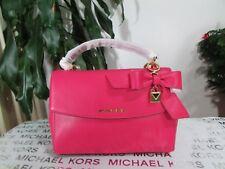 NWT Michael Kors Ava Small Top Handle Satchel Handbag Ultra Pink
