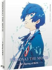 Persona 3 - Movie 1 Collector's Edition: New Blu-Ray / DVD Combo