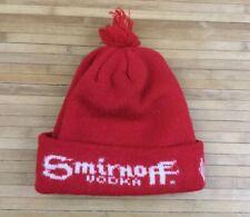 Vintage Smirnoff Vodka Winter Beanie Hat Cap Knit