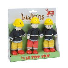 Le Toy Van BK902 Budkins Geschenkset Feuerwehrmänner