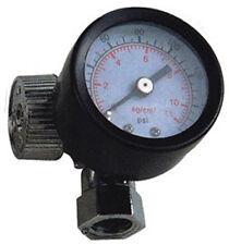 Manometer Druckregler Druckluft z.B. für Lackierpistole