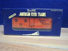 AMERICAN FLYER S 48205 1997 NASG PACIFIC FRUIT EXPRESS REEFER FACTORY FRESH  550