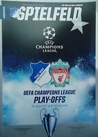 off. Programm UEFA CL 2017/18 TSG 1899 Hoffenheim - Liverpool FC