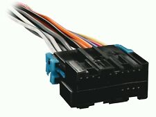 CHEVY BUICK CADILLAC 88-UP Radio Wiring Harness Aftermarket Stereo Install Plug