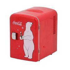 Koolatron Coca Cola Personal 6-Can Compact 4 Liter Mini Fridge In Red KWC4 New