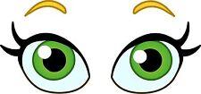 Eyes Cartoon Fun Eyeballs Car Eyes Sticker Decal Graphic Vinyl Label V2