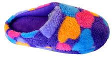 New Women Slipper Shoe Heart Print Cotton Fur Nice Warm Comfortable-309F