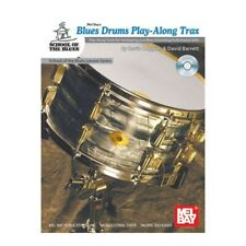 Mel Bay's Blues Drums Play-Along Trax *New (Cd Included)