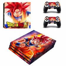 Dragon Ball Z Super Goku PS4 Pro Console Skin Decals Vinyl Skin Stickers Covers