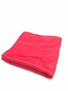 $118 Countess Mara Men`S Solid Red Handkerchief Suit Classic Dress Pocket Square