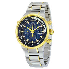 Citizen Endeavor Eco-Drive Dark Blue Dial Mens Watch CA0444-50L