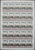 1934 LMS Stanier Class 5 Black Five Train 50-Stamp Sheet (Leaders of the World)