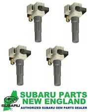 Genuine OEM Subaru Subaru Ignition Coil (Set of 4) 22433AA542 x4